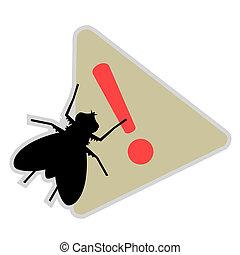 Alarm fly - Creative design of alarm fly