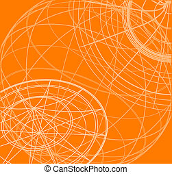 Orange wallpaper - Creative design of orange wallpaper