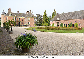 Castle Slangenburg. - Castle Slangenburg in Doetinchem,...
