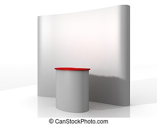 Exhibition Stand Kiosk