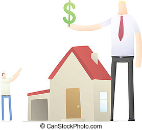 agent increases the rate of credit for real estate