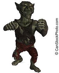 Goblin - 3D Render of an Goblin-Fantasy Figure