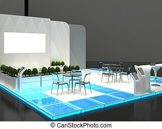 Exhibition Stand Interior Exterior Sample - Exhibition Stand...