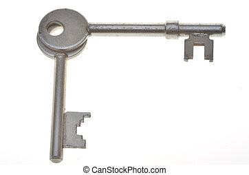 Two keys at right angles