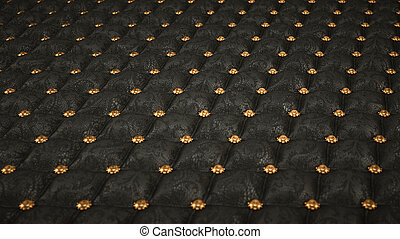 Mock Croc background with pattern and buttons