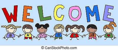 welcome header