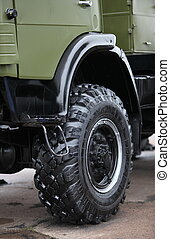 military truck - wheel all terrain military truck
