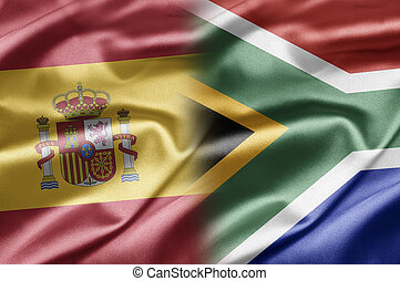 Spain and South Africa