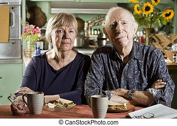 Stående,  Senior, par