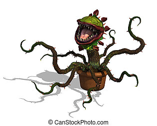 Hungry Carnivorous Plant - A very hungry Carnivorous plant -...