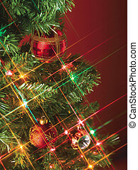 close up image of christmas decoration - Image of close up...