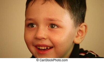 little boy smiling 3 - little boy smiling