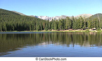 Tranquil Mountain lake