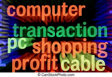 Computer shopping profit