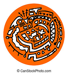Icon rare orange - Creative design of icon rare orange