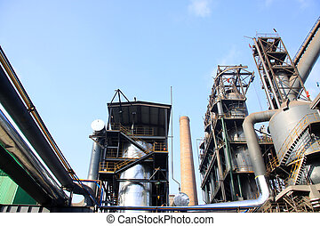 steel enterprise production equipment in a factory in China