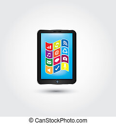 Ipad - This image is a vector illustration and can be scaled...