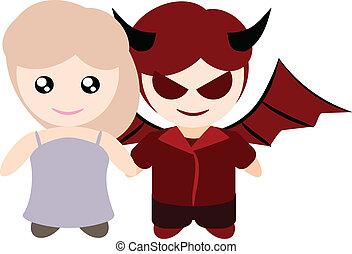My boyfriend is devil