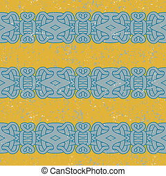 ancient mayan pattern