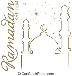 Ramadan Kareem - Hand drawn Ramadan Kareem Generous Ramadan...