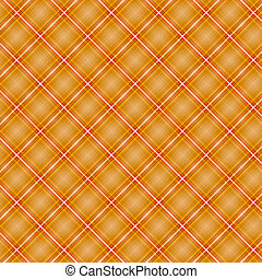 Seamless cross orange shading diagonal pattern, vector...