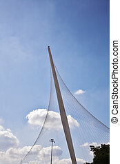The new magnificent bridge in Jerusalem
