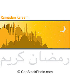 Ramadan Kareem - Gold city of Mosques Ramadan Kareem...