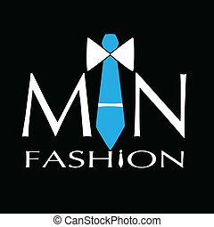 man fashion logo