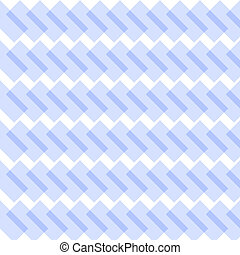 Abstract crisscross blue and white diagonal template...