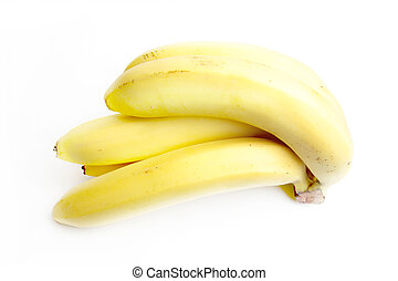banana - beautiful fresh ripe banana as illustration fruits