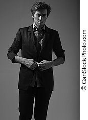 Picture of an awesome stylish guy - Picture of an awesome...