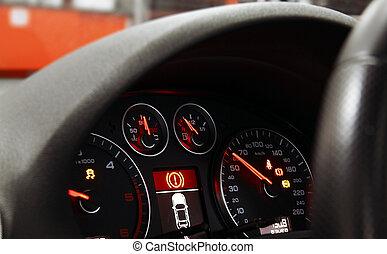 Car dashboard - car dasboard