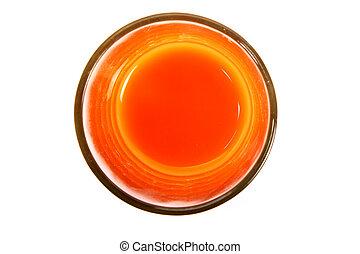 colorful orange liquid