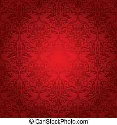 wallpaper hot set - different shades of red in a repeating...