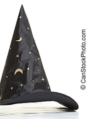 Wizard Hat - Magician hat on a white background