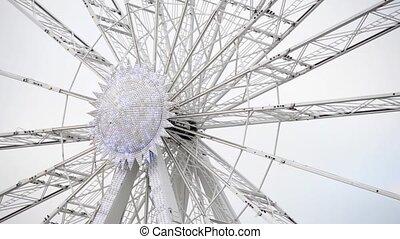 Ferris wheel - Detail of a ferris wheel