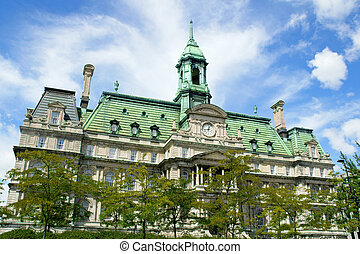 Old Montreal City Hall - The old Montreal city hall (hotel...