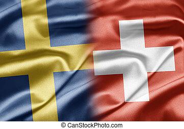 Sweden and Switzerland