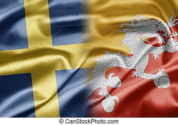 Sweden and Bhutan