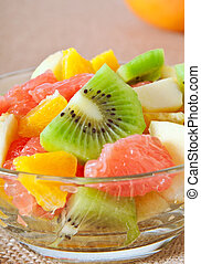 Fresh fruits salad