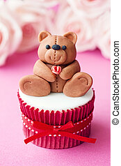 Valentine cupcake - Cupcake for Valentines Day