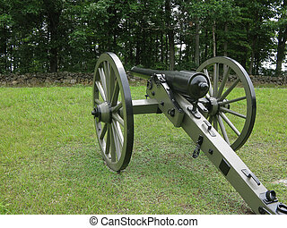 Cannon at Gettysburg - Cannon at the Gettysburg National...