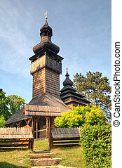 old wooden church, Uzhgorod, Ukraine - Uzhhorod, Church of...