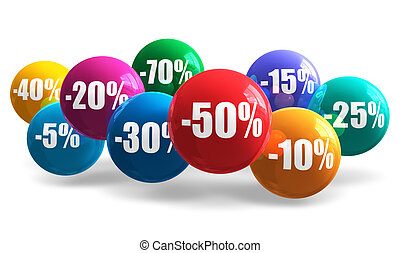 Sale and discount concept