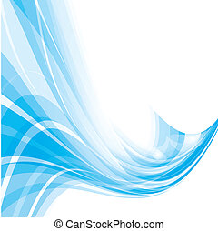 Simple Blue Background - This image is a vector illustration...