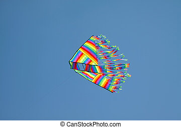 kite fly in the sky