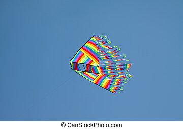 kite fly in the sky