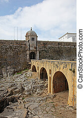 Peniche Fortress - Portugal This for was finished in 1645...