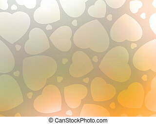 Valentine's day background with hearts. EPS 8