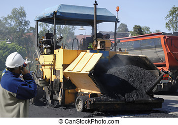 asphalt and tarmac works - asphalt and tarmicing the roads,...